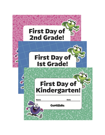 Back To School Grade Level Signs