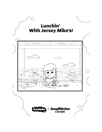 Lunchin' with Jersey Mike's!