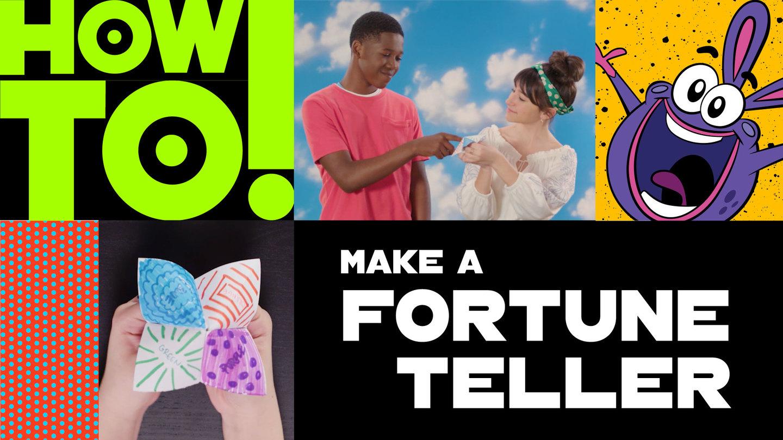 How To Make Origami Fortune Teller - Origami Easy Fortune Teller ... | 810x1440