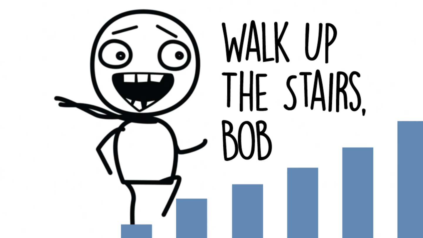 Walk Up The Stairs, Bob - GoNoodle